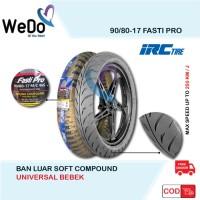 IRC 90/80-17 Fasti Pro Soft Compound Racing Ban Luar Motor Bebek Balap