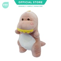 USS Pastel Dinosaur Kids Doll / Boneka Dino / Plush Doll