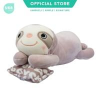USS Lying Purple Sloth Kids Doll / Boneka Sloth