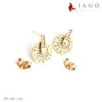 Jago Jewelry Tindik Emas Polla - Perhiasan Emas 17K-Y