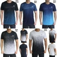 Kaos Olahraga Pria Adidas 6934 Baju Gym Fitness Lari Cowok Training