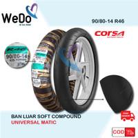 Ban Corsa 90/80-14 R46 Platinum Soft Compound Racing Tubeless