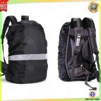 Rain Cover Bag / Pelindung Tas Ransel Anti air Backpack with Reflektor