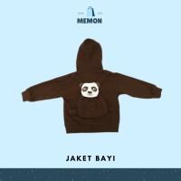 Jaket Hoodie Zipper Bayi Panda 0 - 6 bulan LEMBUT | Baby Hoodie