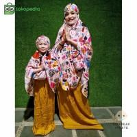 Mukena Couple Anak Dan Ibu Perlengkapan pakaian muslim Berkualitas