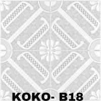 Wallfoam 3D / Wallpaper dinding 3D Motif BUNGA SUSUN [Koko-B18]