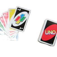 Kartu Uno Cards Edukasi Permainan Board Games SNI