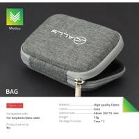 JCALLY Bag Tas Pouch Penyimpanan Earphone Digital Anti Lembab / Debu