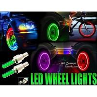 Lampu Tutup Pentil Ban Roda Sepeda Sepedah Motor Sensor Gerak Anti Air