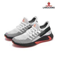 Larocking - Vortex Putih | Sepatu Sneakers Running Gym Shoes Sports