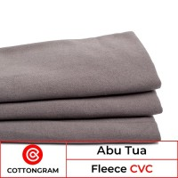 Kain Fleece Bahan Jaket Sweater Hoodie Cvc Warna Tua per Kg