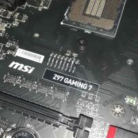 MSI Z97 Gaming 7 Motherboard Soket 1150 Bukan Gigabyte Asus Asrock