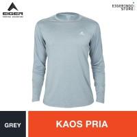 Eiger Pathfinder 2.0 Hiking T-shirt - Grey - , XXL