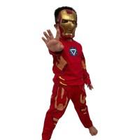 Kostum baju anak Iron Man gratis topeng robot