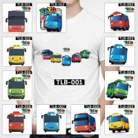 [FREE NAMA !!] Kaos / Baju Tayo Little Bus Dewasa