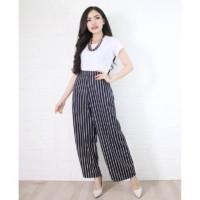 CELANA KULOT YOMI SUPER TEBAL / Hotpant / Celana Salur Wanita