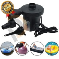 Pompa angin Elektrik Kompresor mini Balon Kasur Kolam YogaBall Angin