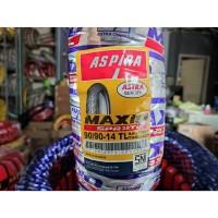 Ban aspira maxio 90 90 - 14 SPR 38 TL TUBELESS kembang Original Honda