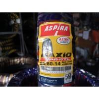 Ban Luar Aspira Maxio SPR 40 Uk 80 80 -14 TUBLESS free pentil