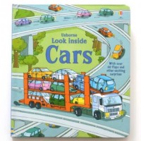 Usborne Look Inside Cars - Imported Education Children Book English
