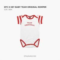KFC x Hey Baby Team Original Romper - 3-6m