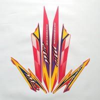 sticker striping body lis motor Mio sporty 2003 Merah