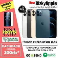 (RESMI) iPhone 12 Pro 512GB Blue Black Gold 256GB 128GB not mini / max