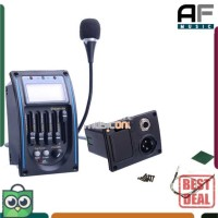 Preamp Amplifier Gitar EQ Tuner dg Microphone LC-5 - Equalizer Akustik