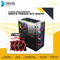 Casing Armaggeddon Nimitz TR5000 ATX FREE FAN