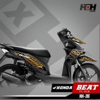 Stiker Striping Beat FI Old - List Variasi Honda Beat FI Old XH-35