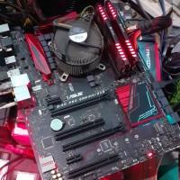 Asus B150 Pro Gaming Aura RGB Kabylake 1151 Mobo Support i7 7700K