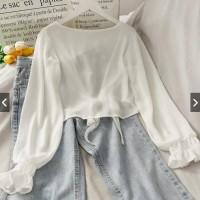 Kesa Outer Fashion Baju Luaran Wanita Cardigan Outwear Ceruty