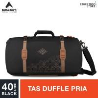Eiger Borneo M Duffle Backpack 40L - Black