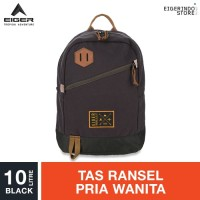 Eiger 1989 Raft Small Backpack 10L - Black