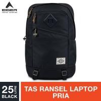 Eiger 1989 Detour Pack Laptop Backpack 25L - Black