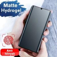 SAMSUNG A50S HYDROGEL MATTE ANTIGORES GLARE FROST ANTI OIL - BELAKANG SAJA