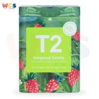 T2 Tea Gorgeous Geisha Green Tea Icon Tin 25 Tea Bags 50g