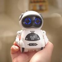 Mainan Robot Dance Interactive Talking Voice Recognition - Putih
