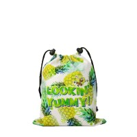Never Too Old Project - Mini Drawstring Lookin Yummy Pineapple