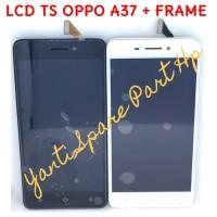 Lcd Touchscreen Oppo A37 A37F Neo 9 Plus Frame Original Terlaris New