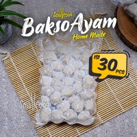 Bakso Ayam Frozen Kualitas Super Homemade Termasuk Bumbu Smallfood - Isi 30