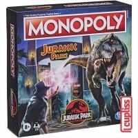 Hasbro Board Game F1662 Monopoly Jurassic Park Permainan Papan