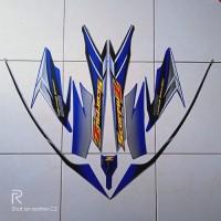 stiker striping motor yamaha scorpio z 225 2006 biru