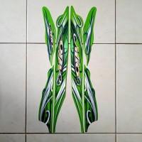 stiker striping motor mio sporty 2010 hijau