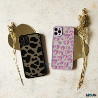 Animal Print 3D Case Softcase - IPHONE X XR XS 11 12 PRO PROMAX - Moo (Black), XSMAX
