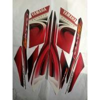 stiker striping yamaha nouvo z 2007 - Merah