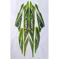 stiker striping yamaha mio sporty 2010 hijau