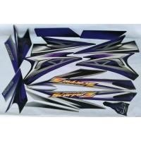 stiker striping yamaha scorpio z 2008 hitam biru