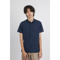 DUE/E Polo Shirt Pria Ardilla in Navy