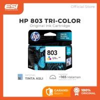 HP 803 Tri-color Original Ink Cartridge (F6V20AA)